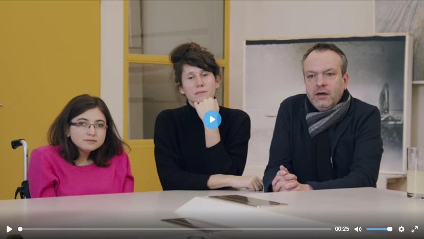 Teaserbild WayIn Inklusion Journey Lernschwierigkeit: Duygu Özen, Annika Hirsekorn und Gunnar Friese